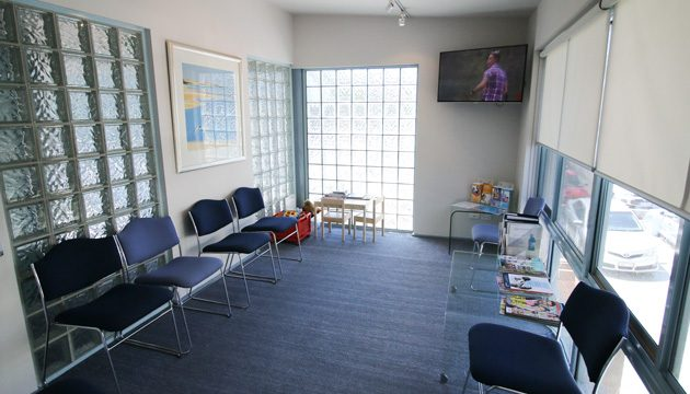 the waiting room Oakleigh dentist Melbourne