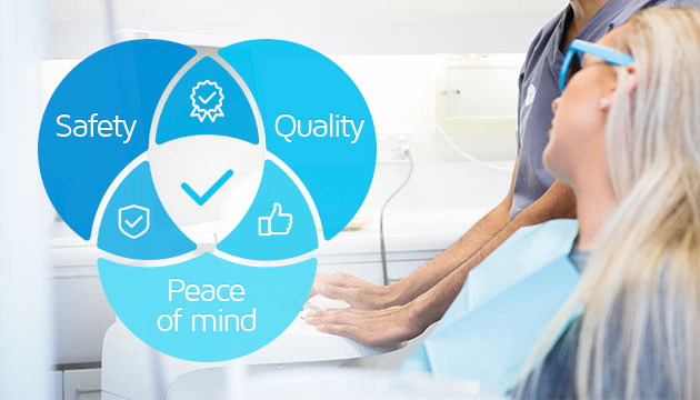 QIP Certification Dental Practices Private Accreditation Oakleigh dentist Melbourne NSQHS Standards