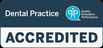 QIP Symbol Accredited Dental Practice Melbourne dentist accreditation