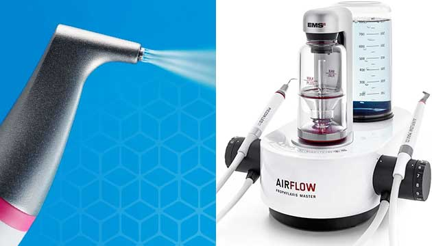 Teeth Cleening Guided Biofilm Therapy Airflow Max
